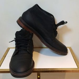 Cole haan lace up leather boots us 11 1/2M